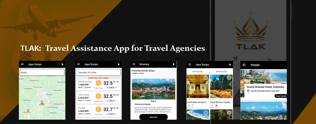 Travel Assistant App - TLAK